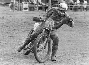 Mervyn Smallwood grasstrack racing